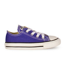 Infants Converse Chuck Taylor Ox Lo Periwinkle Trainers