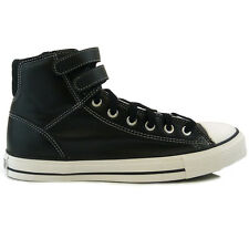 Mens Converse All Star Cuck Taylor 2 Strap Hi Black Trainers