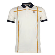 Mens Fila Coppi Gardenia Polo Shirt
