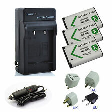 NP-BX1 For Sony HDR-MV1,FDR-X1000V,X1000VR Action Video Camera Battery/Charger