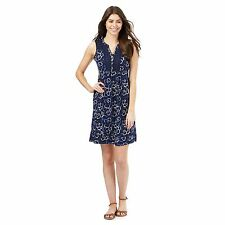 Mantaray Womens Navy Floral Shirt Dress From Debenhams