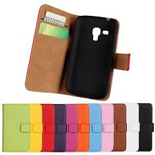 Wallet / Pouch Leather Flip Case Cover For Samsung Galaxy Trend Plus GT-S7580