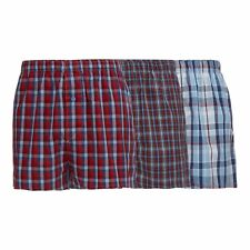 The Collection Mens Pack Of Three Red Checked Boxers From Debenhams