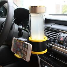 Fashion Car Cup Holder Combo Car Phone Holder Air Vent Mount Adjust Size for Car