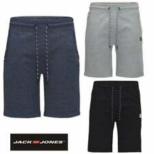 Jack & Jones Mens New Designer Quilt Sweat Shorts Grey Black Navy BNWT