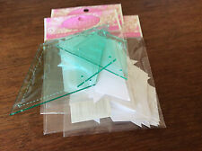 "EPP 3 templates to make 3"" hexagon templates or papers or both, see photo"