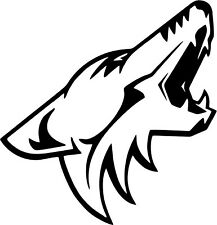 Phoenix Coyotes - Car Window Laptop Vinyl Decal Sticker