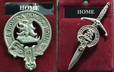 Home, Hume Scottish Clan Crest Badge or Kilt Pin Ships free in US