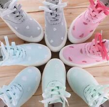 10 Colors Womens Gilrs Sneakers Creeper Casual Fashion New Canvas Preppy Shoes
