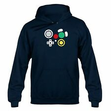 Gamecube Controller Joypad Buttons Hooded Sweater Hoody