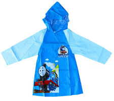 NEW KIDS RAINCOAT HOODIE COVER BOYS DRESS JACKET THOMAS AND FRIENDS CARTOON