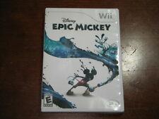 Disney's Epic Mickey (Nintendo Wii) - Complete in Good Condition!