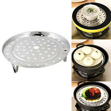 Steamer Rack Insert Stock Pot Steaming Tray Stand Cookware Tool Favorite