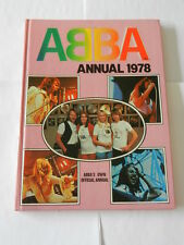 ABBA ANNUAL 1978 HARDBACK BOOK - EXCELLENT CONDITION