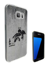 199 Banksy Falling Angel Case Cover For Samsung Galaxy J1 J3 J5 A3 A5 S6 S7 Edge
