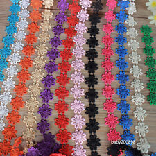 Beautiful flower pattern lace ribbon 5/15 code, multi-color choice free shipping