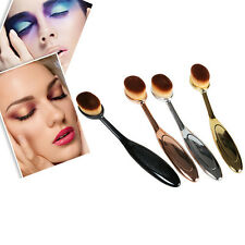 2016 New Elite Oval Tooth Design Make up Brushes Cosmetic Cream Powder Tools