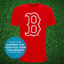 Boston Red Sox B Logo Official T-Shirt USA MLB Top Jersey Baseball 2016 NEW