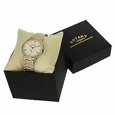 """""""ROTARY"""" - NEW IN BOX Men's WATCH - Super Clean Look at Great Price"""