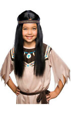 POCAHONTAS CHILD INDIAN GIRL COSTUME WIG FANCY DRESS HALLOWEEN COSTUME ACCESSORY