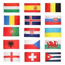 National Flag 5FT X 3FT World Cup Football Sports Competition 15 Countries Flags