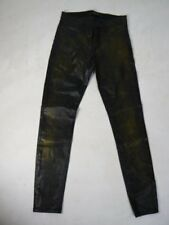 $228 J Brand 815 Black Green Coated Super Skinny Mid Rise Pants Jeans NEW J329