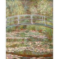 1899 Claude Monet Japanese Footbridge Water Lily Pool Giverny Painting Poster