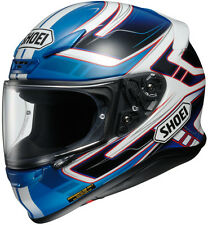 Shoei RF-1200 Full-Face Motorcycle Helmet - VALKYRIE TC-2 Blue - Adult XS-2XL