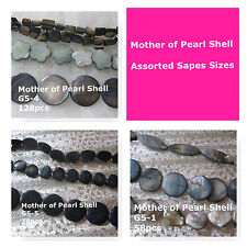 Mother of Pearl Shell Beads Assorted Colors Sizes MOP Shell Beads Spacer Beads