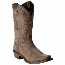 Ariat Men's Lawless Rustic Brown Cowboy Boots 10015385