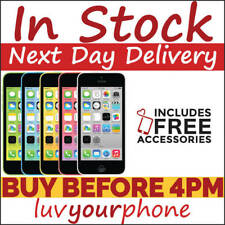 Apple iPhone 5c 8GB 16GB 32GB Unlocked - New Condition - 12 Months WTY
