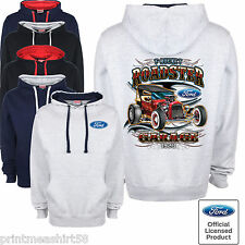Licenced Ford Classic T Bucket Hot Rod Street Car Retro Hoody Hoodie Sweatshirt