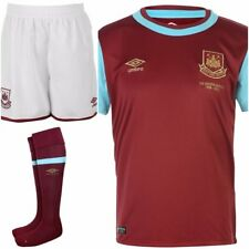Genuine Umbro West Ham United Kid's Home Full Kit 2015-2016