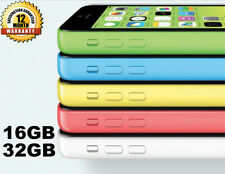 Apple iPhone 5C 16GB 32GB 100% GSM Unlocked 4G LTE Smartphone Free DHL Express