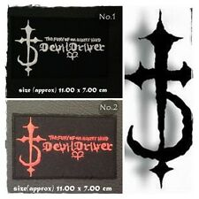 DevilDriver Patch Sew On Iron Embroidered Applique Rock Band Heavy Metal Music