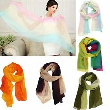 New Fashion Women's Long Soft Wrap Lady Shawl Chiffon Shawl Scarves Scarf