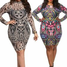 2016 Plus Size Women Sexy Clubwear Bodycon Party Evening Cocktail Dresses 6~22