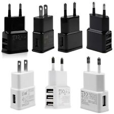 1A/2A AC USB Power Wall Charger Adapter Travel EU/US Plug For Samsung iPhone HTC