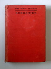The King's England  -  BERKSHIRE  by Arthur Mee (1939)