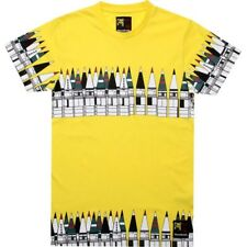 $40 Reebok x Rolland Berry Moscow City art Tee (radar yellow) fashion shirt