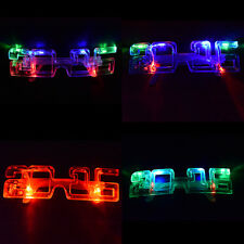 Light Up New Years Eve Party Supplies 2016 Glasses Glowing Eye LED Shades JBCA