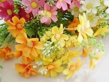 Wholesale Artificial Daisy Flower Silk Flowers Heads Wedding Birthday Home Decor