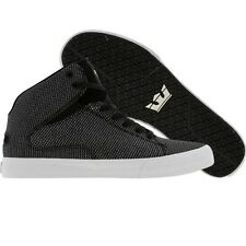 $140 Supra TK Society Mid (black TUF) New Men Skateboard Fashion Sneakers