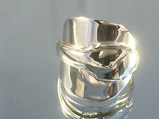 Superb Vintage 1931 Solid Silver Art Deco Spoon Rings Lee&Henry Wigfull Szs MQRS