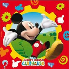Mickey Mouse Clubhouse party tableware plates cups napkins etc.. under 1 listing