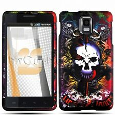 Samsung Infuse I997 Case - Design Rubberized Coated Hard Snap-On Cover