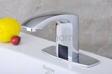 Automatic Hands Touch Auto-Sensor Faucet Bathroom Basin Faucet Sink Mixer Tap