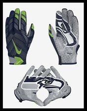 $100 XL Nike NFL OnField Seattle Seahawks Vapor Knit Authentic Receiver Gloves