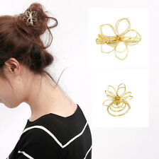 Trendy Women Girls Flower Hair Clip Delicate Hair Pin Hair Decorations Jewelry