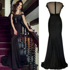 Sexy Vintage Lace Mermaid Maxi Slim Formal Prom Party Evening Bodycon Long Dress